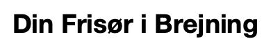 Din Frisør Logo